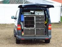 Tutaj inny wariant transportu psów