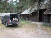 Navara była naszym domem - psy akceptowały to bez zastrzeżeń.