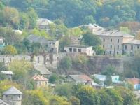 Widok murów miejskich z twierdzy