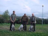 Powrót z Bratysławy - obok mnie z Florą Aleksander z Fiordem i Konrad z Frygą