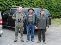 Nasza ekipa - od lewej Anatol, Aleksander i Konrad ja robię zdjęcie