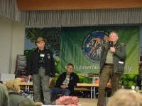 Główni organizatorzy H-J Schomakers i Herbert Lemmer szef Niemieckiego Klubu Wyżła Krótkowłosego