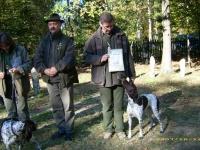 Końcowa prezentacja - od lewej ja z Jagą i uzyskanym dyplomem, obok mnie Izabela i Waldemar Cichoniowie