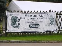 Takim bannerem witano uczestników Memoriału.