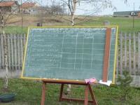 Tablica z listą konkurencji