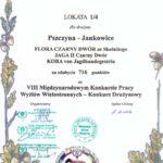 Zwycięstwo drużynowe w Konkursach Wyżłów w Sokołowie Młp. 16 i 17.10.2010
