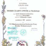 Dyplom VII MKP Wyżłów Wielostronnych Sokołów Młp. 16.10.2010 r.