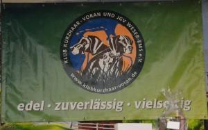 Znak organizatora Klubu Wyżła Krótkowłosego VORAN Weser Ems