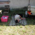 Janek odsypia wstanie w środku nocy i polowanie