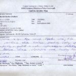 Karta oceny Krajowa Wystawa Rybnik 7.10.2012