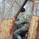 Tomek w roli operatora