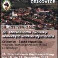 Przed 2 dniami zakończył się największy na świecie konkurs dla wyżłów niemieckich krótkowłosych – IKP. Do Cejkovic na południu Czech zjechało z całej Europy 198 wyżłów, zawody sędziowało 129 sędziów, […]